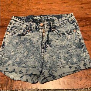 Target denim shorts